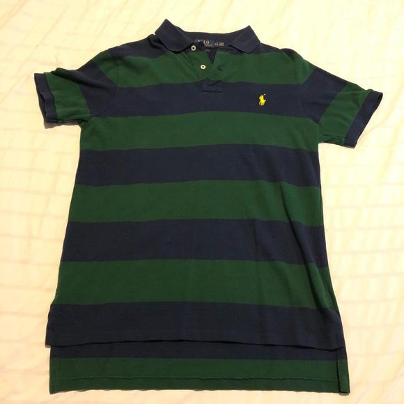 1499398b2 Polo by Ralph Lauren Shirts | Polo Ralph Lauren Striped Polo Shirt ...